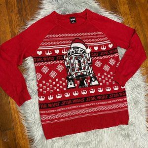 Star Wars Ugly Christmas Sweater M